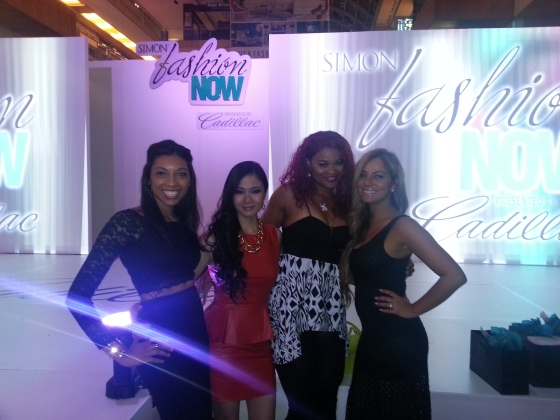 Headed to the afterparty with blogger friends, Lynne Gabriel, Beauty by LeRenda and Spoiled Latina