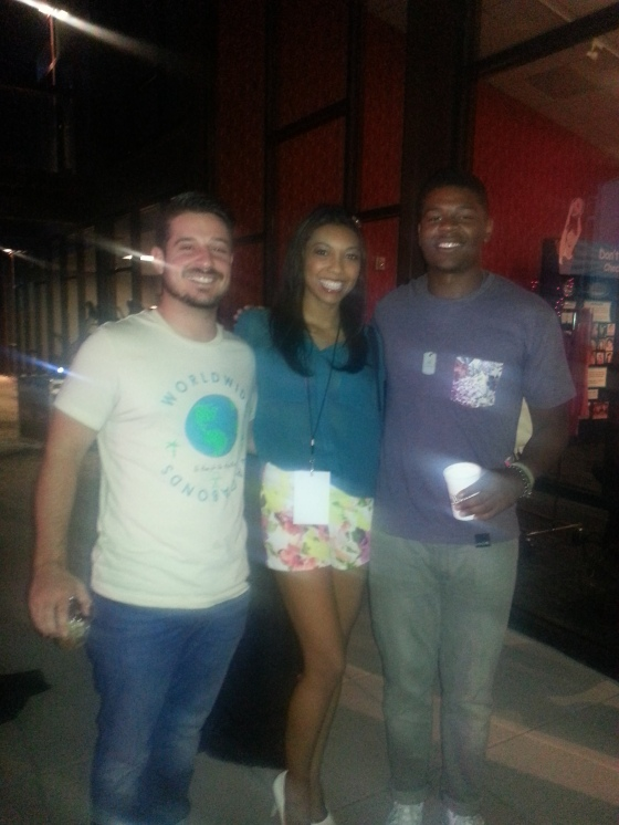 With Sam and Clary of Loin Cloth LA