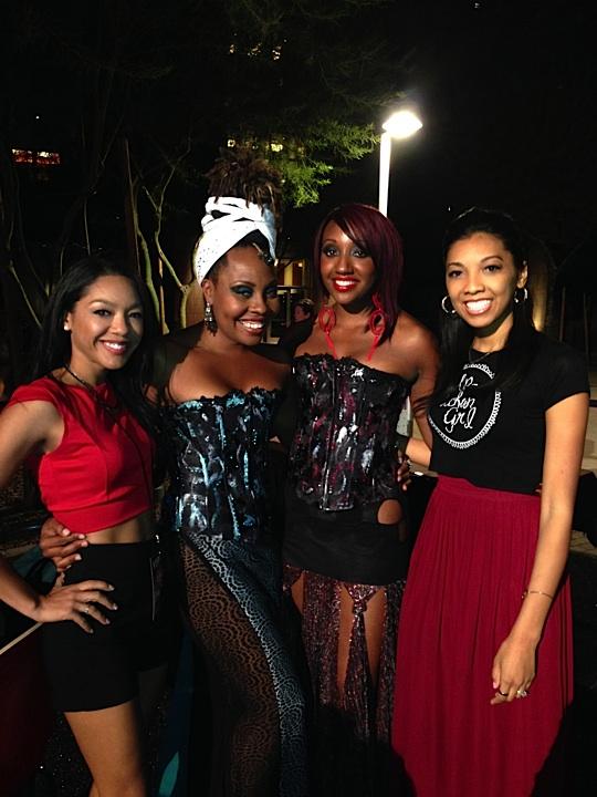with Nekia and Jai're of Jai're International Couture