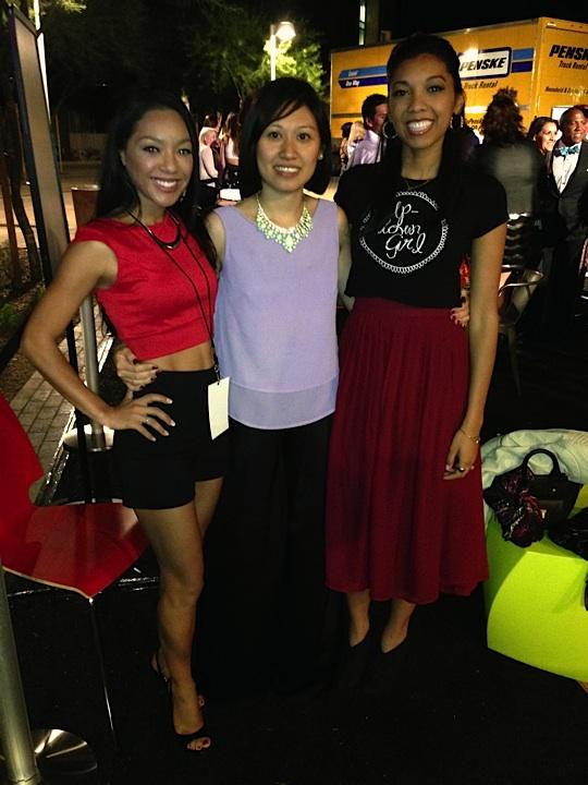 with designer, Trang Nguyen
