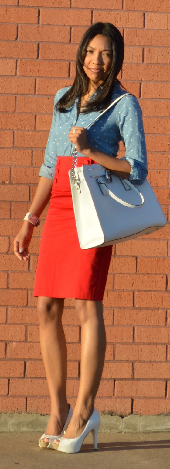 op- Abercrombie, skirt- Wet Seal, heels- Aldo, earrings- Aldo, necklaces- Tiffany's, Things Remembered, bracelet- Agaci, bag- Michael Kors