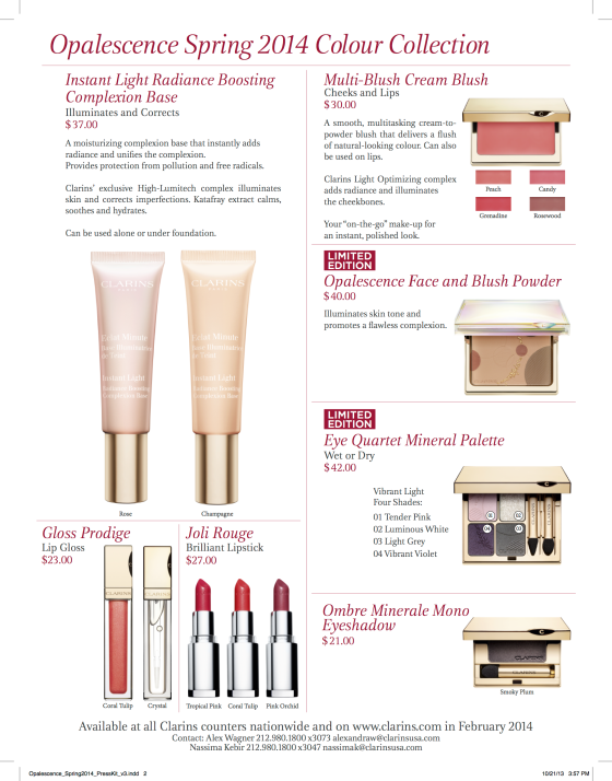 Clarins_makeup_ Spring14_presskit Page 2