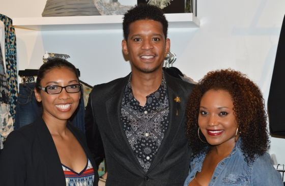 A Fashion Fiend, Chef Roble and fellow blogger